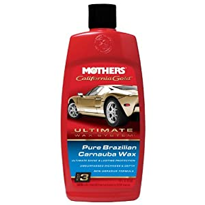 MOTHERS 05750 California Gold Pure Brazilian Carnauba Wax Liquid - 16 oz (Ultimate Wax System, Step 3)