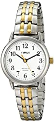 Timex Women's T2P298 Easy Reader Two-Tone Watch with Expansion Band
