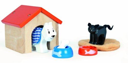 Le Toy Van Dollhouse Furniture & Accessories, Pet Set (Miniature Dog House compare prices)