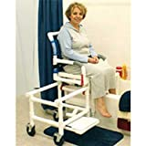 Dual Commode Showertransfer Chair Deluxewonestep Lock