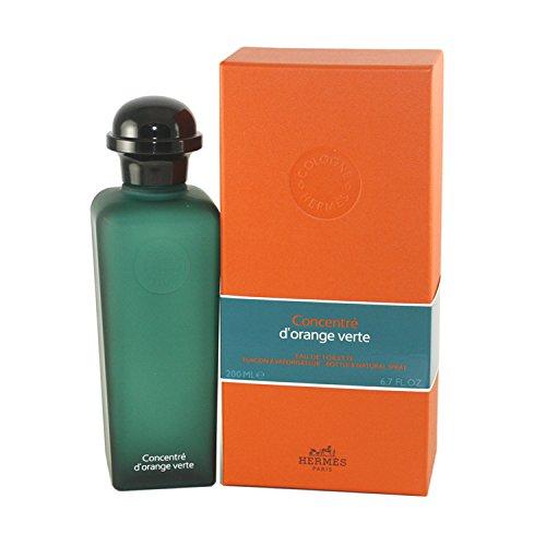 hermes concentre d orange verte eau de toilette spray for unisex 6 7 ounce women perfume. Black Bedroom Furniture Sets. Home Design Ideas