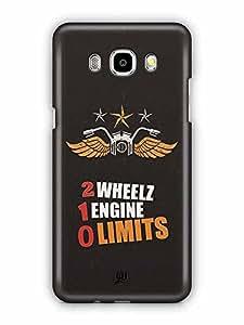 YuBingo 2 Wheels, 1 Engine, 0 Limits Designer Mobile Case Back Cover for Samsung Galaxy J5 2016