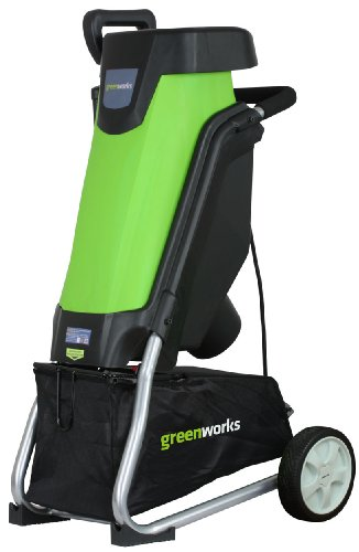 Review GreenWorks 24052 15 Amp Corded Shredder/Chipper