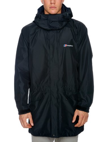 Berghaus Cornice Long Shell Men's Jacket - Black, X Large