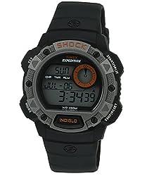 Timex Shock Digital Grey Dial Mens Watch - T49978