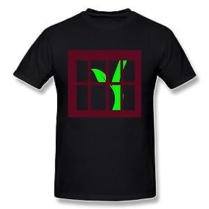 New Style Tree Prison T Shirts Mens' US Size XXL Black