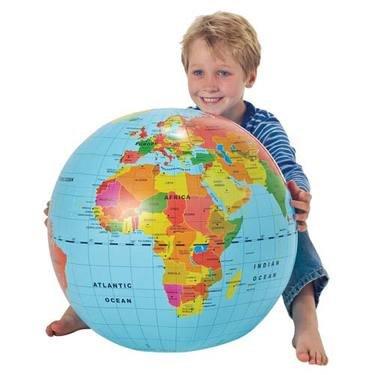 Inflatable Globe - 12 Inch