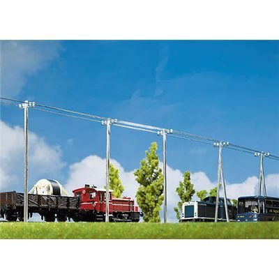 TELEPHONE POLES - FALLER HO SCALE MODEL TRAIN ACCESSORIES 130955