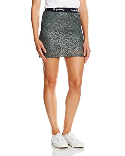 Superdry Rock Lacy Foil Mini dunkelgrau