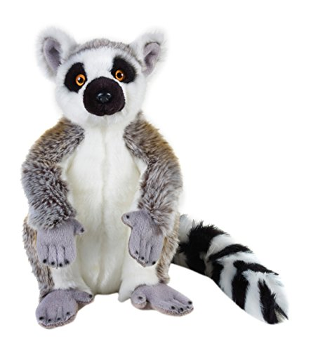 National Geographic Stuffed Animals Hand Puppet (1 Piece), Medium, Lemur