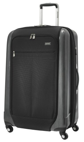 Ricardo Beverly Hills Luggage Crystal City 28Inch Expandable Spiinner Upright Suitcase, Black, Large best deal