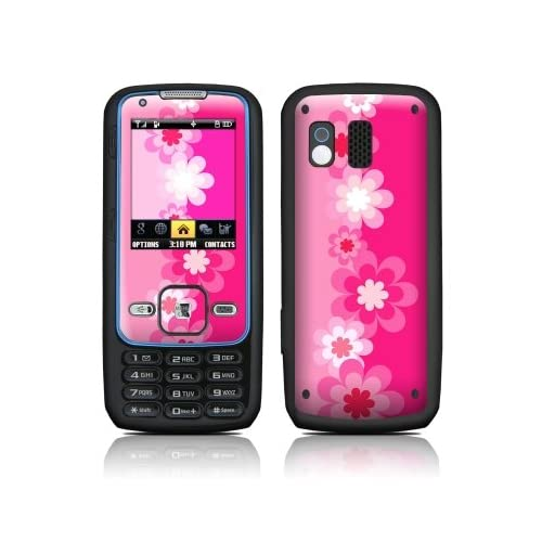 Retro Pink Flowers Design Protective Skin Decal Sticker for Samsung Rant SPH M540 Cell Phone