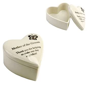 Amore Wedding Gift. Hand Painted Porcelain Heart Trinket Box - Mother ...