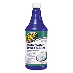 Zep Acidic Toilet Bowl Cleaner Organic Bottle 32 Oz