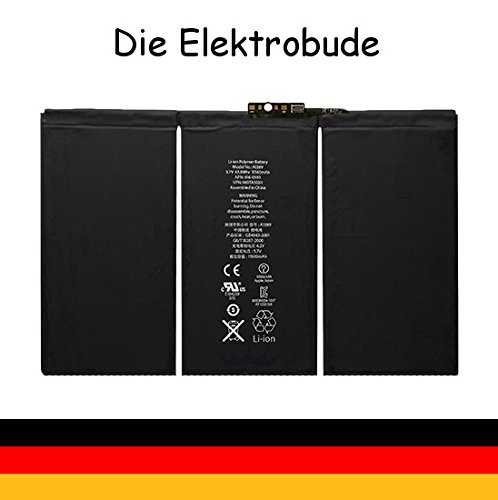 Apple Ipad 2 Ersatzakku Akku Li-ion Lithium 6500mah aus München NEU