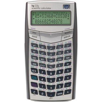 HP 33S Scientific Calculator F2216AB0000DK6IE