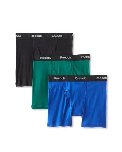 Reebok Men's Boxer Briefs - 3 Pack