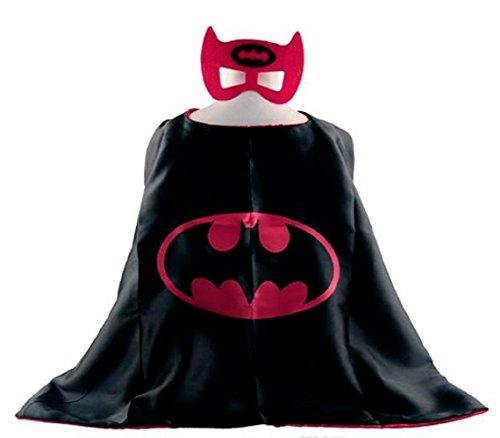 Batwoman Superhero Cape + Mask Children Halloween Costume ()