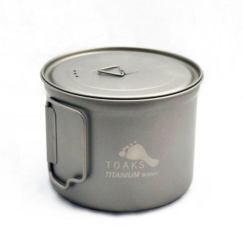 TOAKS Titanium 900ml Pot with 115mm Diameter (Titanium Backpacking Pot compare prices)