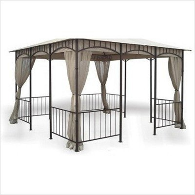 DC America GOS1215-BB Replacement Screen for GO31215DS-DBC Gazebo, Polyester