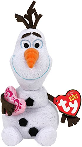 Ty Disney Frozen Olaf - Snowman with Heart