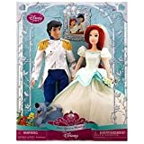 Disney Princess Once Upon a Wedding Eric and Ariel Doll Set -- 2-pc.