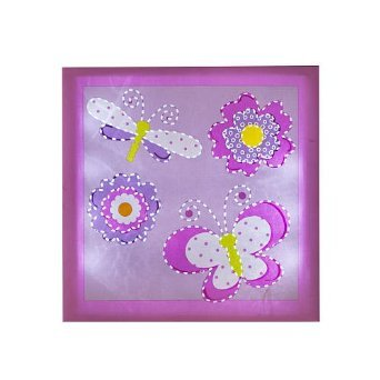 Babies R Us By Design Butterfly Light Up Wall Art