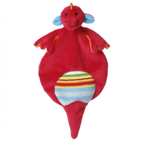 happy-horse-doudou-semi-plat-dragon-rouge-et-multicolore-dragon-duncan-tuttle-28-x-15-cm-hochet-bebe