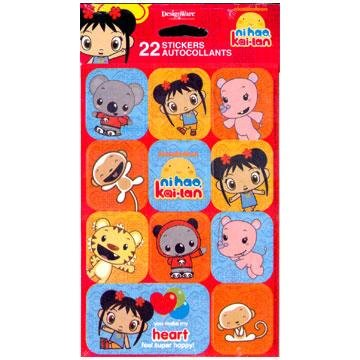 NI HAO STICKERS 2 SHEETS