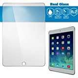 GLAZZ 0.33mm Tempered Glass Screen Protector for iPad Air 2 & iPad Air 1 (Made From Real Glass, Shatterproof, 2.5d Rounded Edges and Oleophobic Coating)