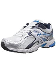 Fila Men Elian White Mesh Running Shoes