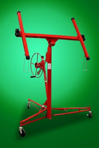 Commercial 11' 15' Red Drywall Lift 150 Lbs Panel Lifter Jack Hoist