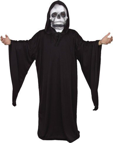 Child's Grim Reaper Costume Size: Youth Medium 8-10