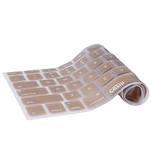 Casiii Ultrathin Silicone Keyboard Cover for Macbook, Macbook Pro, Macbook Air, and iMac, 13