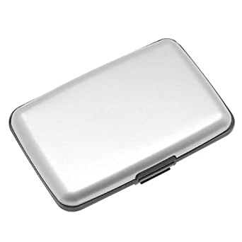 Indestructible Aluminum Wallet (Silver)