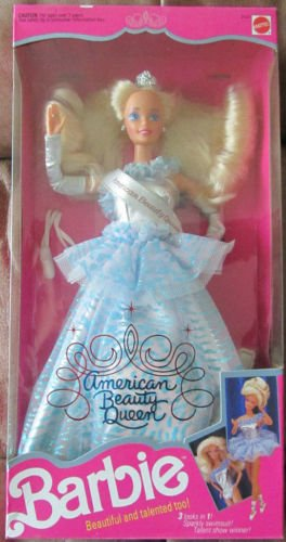 American Beauty Queen Barbie Doll - 1
