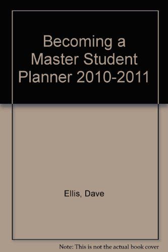 Becoming a Master Student Planner 2010-2011