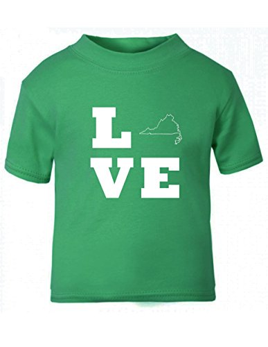 love-virginia-child-baby-kid-t-shirt-tee-6mo-thru-7t-kelly-green-18-months