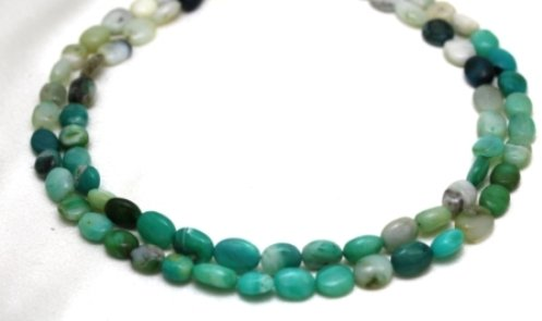 Opal Necklaces 2 Strands Natural Opal Beads Beaded Necklace 17