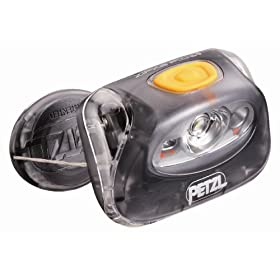 Petzl E98 PM Zipka Plus 2 Headlamp, Mystic Gray
