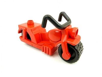 Feuerwehr Motorrad rot Lego Duplo B63