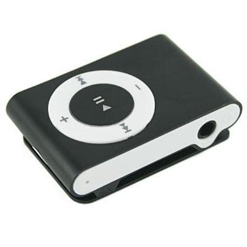 4GB Black mini Clip Mp3 player
