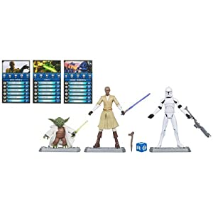 Star Wars the Clone Wars Battle Packs - Stop the Zillo Beast Set