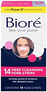 Biore  Deep Cleansing Pore Strips , 14 Nose Strips