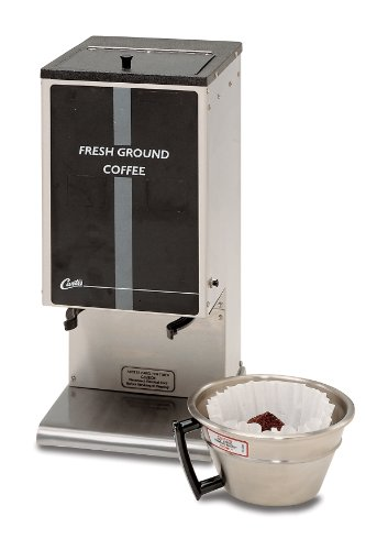 Wilbur Curtis Coffee Grinder 6.0 Lb Grinder With Single Hopper - Commercial Burr Grinder - SHG-10 (Each)