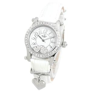 Disney(ディズニー) 腕時計 ミッキー×スワロフスキー ホワイト レディース