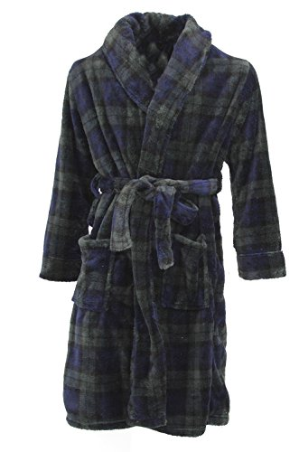 Club Room Men's Plaid Super Soft Robe Blackwatch One Size (Cool Bath Robes For Men compare prices)