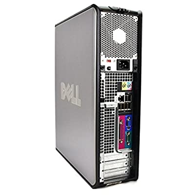 Dell Optiplex SFF Business High Performance Desktop Computer PC (Intel Core 2 Duo 2.7GHz, 4GB DDR3 Memory, 160GB HDD, DVDRW, Windows Professional) (Certified Refurbished)