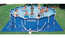 "Hot Sale Intex Metal Frame Pool - Blue (24' x 52"")"