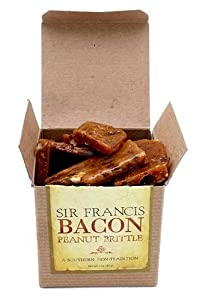 Sir Francis Bacon Peanut Brittle (3oz Box)